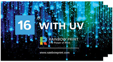 Buy Print Customized Cheap Business Cards Rainbow Print